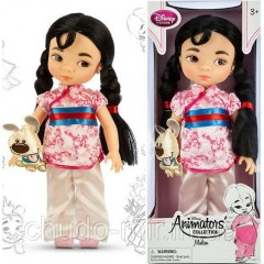 Кукла Дисней аниматор Мулан Disney Animators' Collection Mulan Doll - 16''