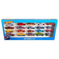 Подарочный набор автомобилей Hot Wheels (Хот Вилс) 20шт.