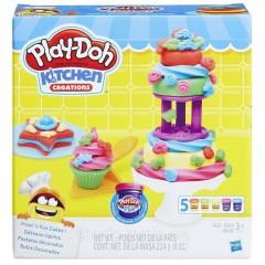 Набор Плей До креативная кухня Play-Doh Kitchen Creations Frost 'n Fun Cakes
