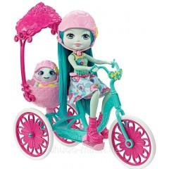 Кукла Энчантималс Тейли Черепашка Прогулка на велосипеде (Enchantimals Built for Two Doll Playset)