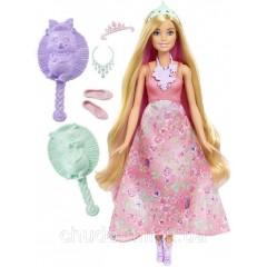 Кукла Барби Принцесса с волшебными волосами / Barbie Dreamtopia Color Stylin' Princess Doll, Pink