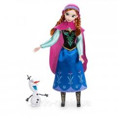 Кукла Дисней Фрозен Анна Классическая со снеговиком Disney Frozen Anna Classic Doll - Frozen