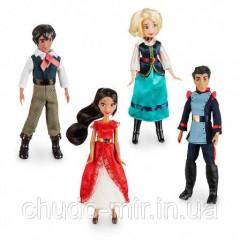 Набор из 4 мини кукол Елена из Авалора Disney Дисней