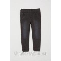 Джоггеры ( джинсы) для мальчика H&M размер 3-4 года рост 104
