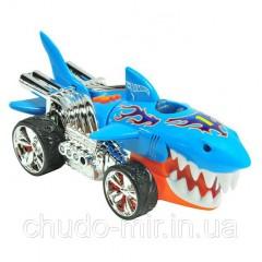 Машина хот вилс Hot Wheels акула горячие колеса свет и звук 23 см