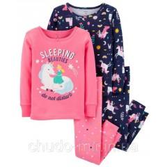 Пижама Картерс (Carter's) для девочки 2Т
