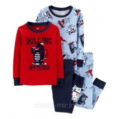 Пижама Картерс (Carter's) для мальчика 2Т, 3Т, 4Т