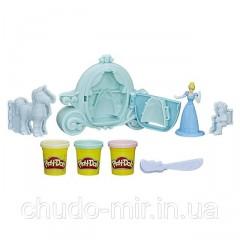 Набор Плей-До Золушка с каретой. Play-Doh Royal Carriage Featuring Disney Princess Cinderella
