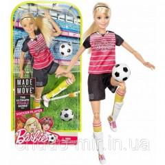 Кукла Barbie Футболистка Безграничные движения