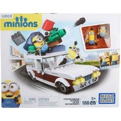 Конструктор Мега Блокс автомобиль миньонов Mega Bloks Minions Station Wagon Getaway