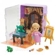 Набор чемоданчик кукла принцесса Дисней Рапунцель в детстве