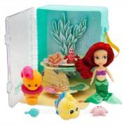 Набор чемоданчик кукла принцесса Дисней Русалочка Ариэль в детстве