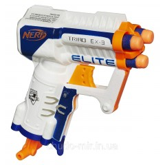 Бластер Элит Триад Nerf N-Strike Elite Triad EX-3 Blaster Hasbro