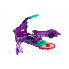 Машинка-трансформер Screechers Wild Stingshift Дикие Скричеры Стингшифт фиолетовая L 1