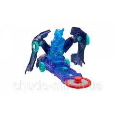 Машинка-трансформер Screechers Wild Nitebite Дикие Скричеры Найтбайт синяя L 1
