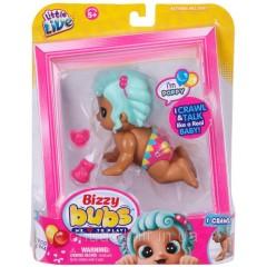 Little Live Интерактивная кукла поппи Bizzy Bubs Single Pack Poppy