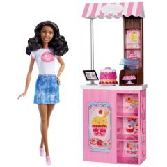 Кукла Барби в магазине сладостей Кондитер,продавец /Barbie