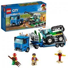 Конструктор LEGO City Транспортировщик для комбайнов 358 деталей