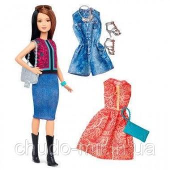 Кукла Барби с набором одежды - невысокая/ Barbie Fashionistas Doll 41 Pretty in Paisley Doll & Fashions - Peti