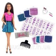 Кукла Барби Barbie серия Сияющие волосы Glitter Hair Design Оригинал