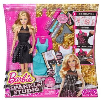 Барби Сияющая студия Barbie Sparkle Studio Doll