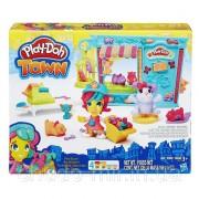 Игровой набор пластилин Play-Doh Город Магазинчик домашних питомцев Town Pet Store
