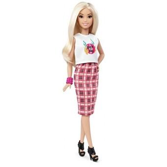 Кукла Барби Модница - Barbie Fashionistas Doll 31 Rock 'N' Roll Plaid - Petite
