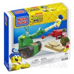 Конструктор Мега Блокс Губка Боб квадратные штаны Mega Bloks SpongeBob Pickle Tank Attack Building Set