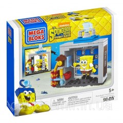 Конструктор Мега Блокс Губка Боб Фото студия Mega Bloks The SpongeBob Movie: Sponge Out of Water Photo Booth
