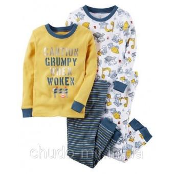 Пижама для мальчика 4в1 Carter's (Картерс)