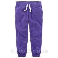 Штаны флис для девочки Carter's ( Картерс) 18М, 24М