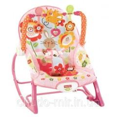 """Кресло-качалка c вибрацией 3в1 """" Кролик Банни"""" Fisher-Price Infant To Toddler Rocker, Bunny"""
