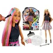 Кукла Барби брюнетка Разноцветный микс Игра с цветом Barbie Mix Color