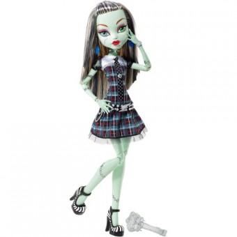Кукла Монстер Хай Френки Штейн из серии Страшно высокие (43см)