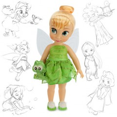 Кукла Disney Animators Фея Динь-Динь Дисней Аниматоры/ Tinker Bell