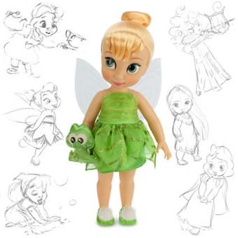 Кукла Disney Animators Фея Динь-Динь Дисней Аниматоры/ Tinker Bell